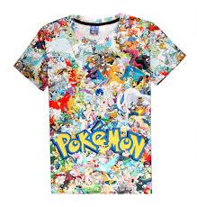 Halloween Themed Shirts Pokemon Go Shirts Cosplay T Shirts