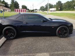 camaro ss with zl1 wheels black gloss zl1 rims installed camaro5 chevy camaro forum