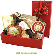 christmas wine gift baskets california christmas wine gift box