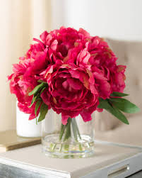 flowers arrangement peony flower arrangement balsam hill