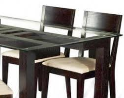 Wooden Base For Glass Dining Table Glass Top Dining Tables With Wood Base Foter
