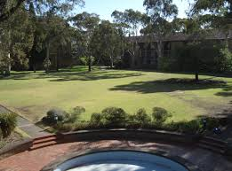 what is a courtyard file newman college courtyard view from dining jpg wikimedia