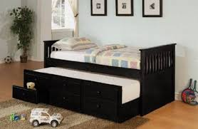 Black Twin Bed Black Twin Bed With Trundle And Storage Drawers U2014 Loft Bed Design
