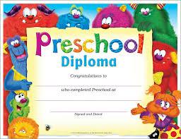 preschool graduation diploma preschool diploma friends t 17010
