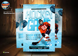 hockey templates for photoshop ice hockey psd flyer template by flyertemplates on deviantart