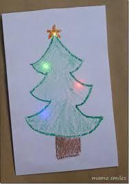 christmas cards to make diy light up christmas cards