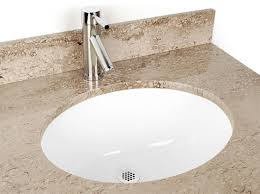 bathroom small oval ceramic undermount bathroom sink in white