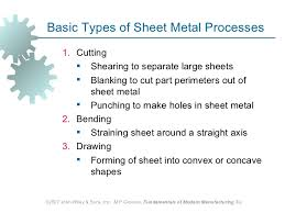 sheet types sheet metal