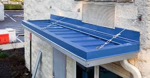 Metal Canopies And Awnings Suspended Awning Commercial Steel Awnings Suspended Awning Houzz