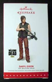 2015 hallmark keepsake ornament daryl dixon the walking dead ebay