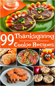 99 thanksgiving cookie recipes bonus cookies