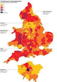 big society visualised the charity map of england and wales
