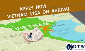 application procedure of visa on arrival visas of the world