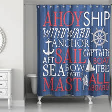 Nautical Bathroom Curtains Buy Nautical Bathroom Curtains From Bed Bath Beyond