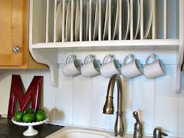 Plate Holders For Cabinets by Upgrade Cabinets By Building A Custom Plate Rack Shelf