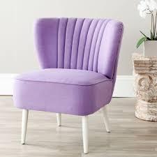Lavender Accent Chair Safavieh Lavender Cotton Blend Accent Chair Mcr4548c The