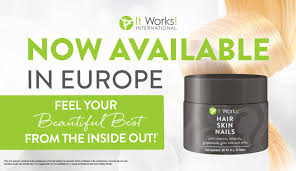 it works hair skin nails it works products