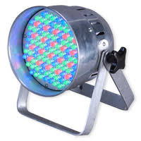 Eliminator Lighting Eliminator Lighting Electro 86 Led Multi Colored Wash Par Can Light
