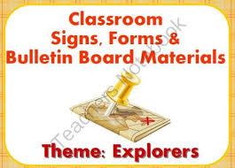 themed l 80 best explorer theme images on explorers unit early