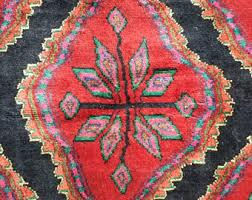 Blacklight Rugs Vintage Persian Rug Etsy