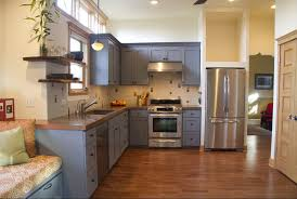 kitchen cabinet idea gray wood floor with painted kitchen cabinet ideas gray kitchen