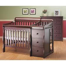 Convertible Mini Cribs Sorelle Newport 2 In 1 Convertible Mini Crib And Changer Combo