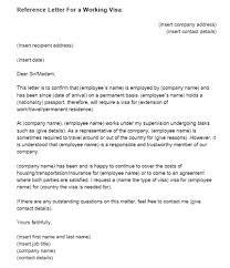Letter Visa Application Exle Oshibori Info New Resume Exle