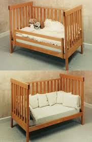 Crib Converter Sustainable Maple Crib Arts Crafts