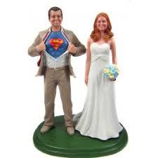 superman wedding cake topper custome captain america wedding cake toppers
