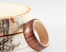 wood engagement rings wood engagement ring etsy