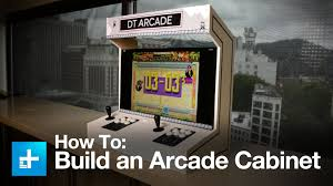 how to make an arcade cabinet how to build an arcade cabinet youtube