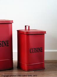 poubelle cuisine retro poubelle métal cuisine pm déco brocante seb13832 2