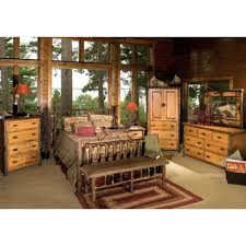 fireside lodge hickory panel configurable bedroom set reviews