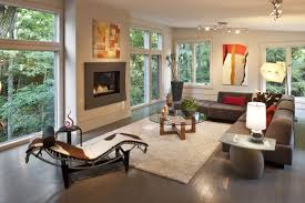 Light Brown Couch Decorating Ideas by Living Room Gorgeous Living Space Implemented With Plain White