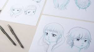 manga drawing how to draw faces by camilla d u0027errico creativebug