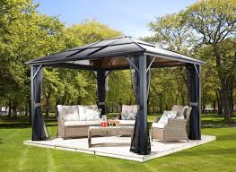 pergola awesome hardtop patio gazebo awesome pergola plans image