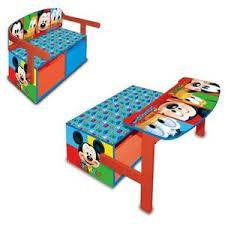 bureau enfant mickey mickey meuble de rangement achat vente pas cher