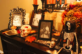 consider a halloween altar when decorating for october the big