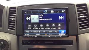 2005 jeep grand bluetooth 2006 jeep grand alpine ine z928 hd 8 inch din