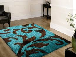 Chocolate Brown Area Rugs Turquoise And Brown Area Rugs Visionexchange Co