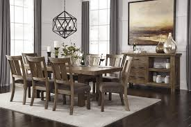 Pine Dining Room Set Signature Design By Ashley Tamilo Rectangle Counter Height Table