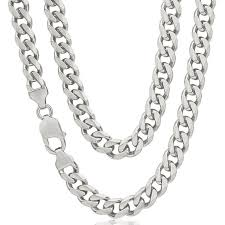mens silver curb necklace images 50 best mens and womens solid gold and silver chains images on jpg