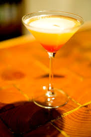 pineapple upside down cake martini 1 oz vanilla vodka 2 oz