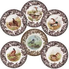 dinner plates spode woodland china dinnerware