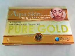 aqua skin egf gold for sale aqua skin whitening egf gold pro q10 rna complex