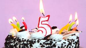Birthday Cake And Candles Time Laps Film Stock Footage Video