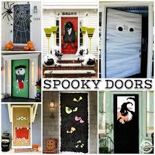 Frankenstein Door Decoration 15 Fun Halloween Front Doors Kids Activities