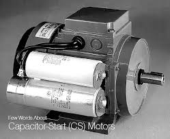 few words about capacitor start cs motors
