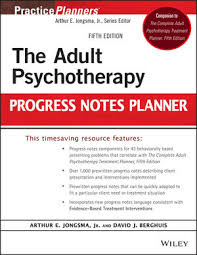 wiley the psychotherapy progress notes planner 5th edition
