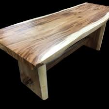 hton solid oak 120 160 hollow teak log console primefurniturehouston